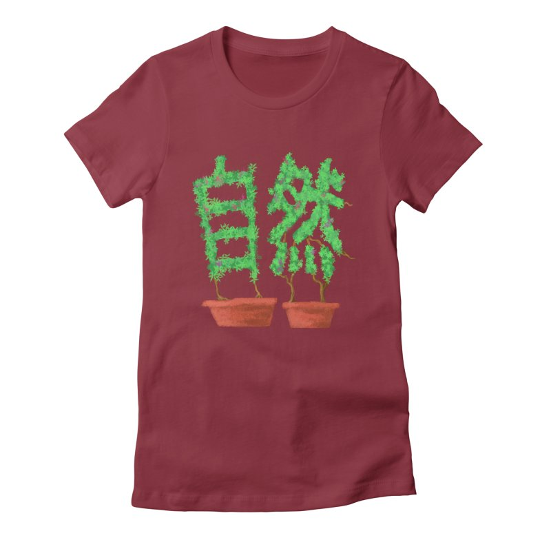 Nature Women's Fitted T-Shirt by DiegoMRod's Artist Shop