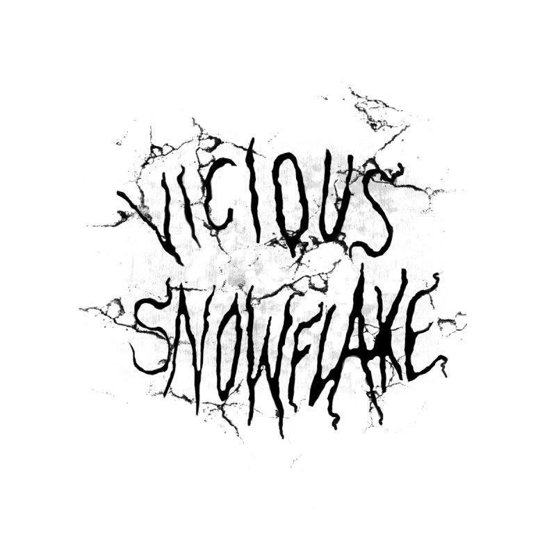 Vicious Snowflake Men's T-Shirt by DiegoMRod's Artist Shop