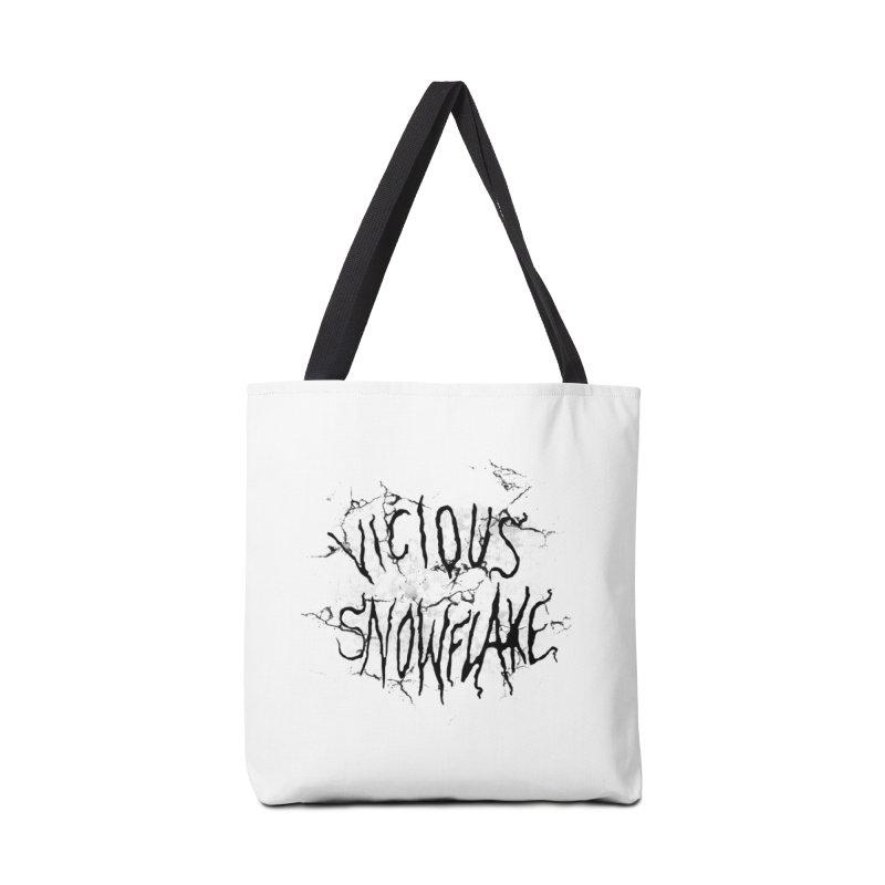 Vicious Snowflake Accessories Bag by DiegoMRod's Artist Shop