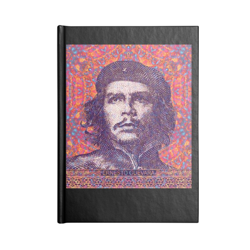 Che Guevara Pop Art Accessories Blank Journal Notebook by The Digital Crafts Shop