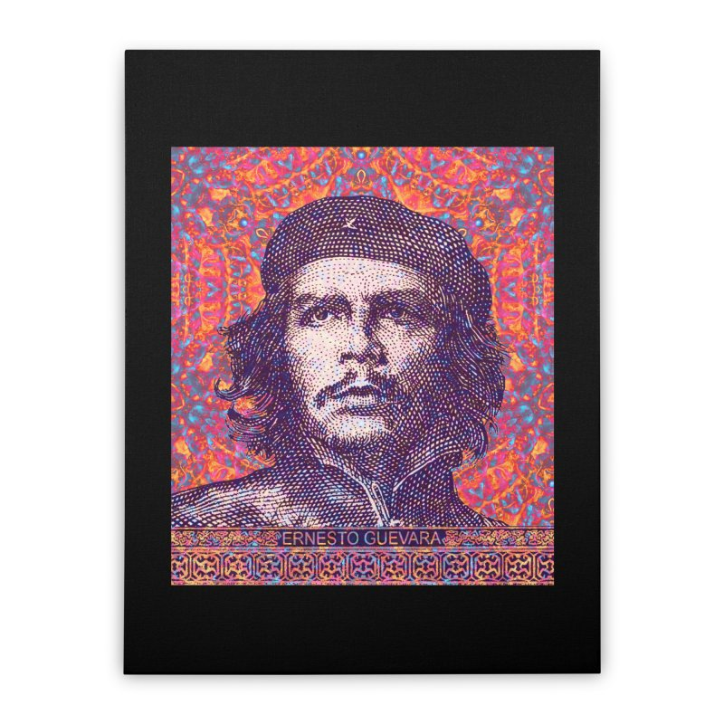 Che Guevara Pop Art Home Stretched Canvas by The Digital Crafts Shop
