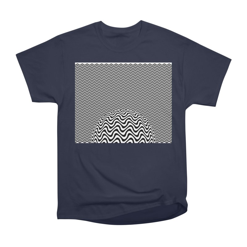 Wave Sphere Men's Heavyweight T-Shirt by The Digital Crafts Shop
