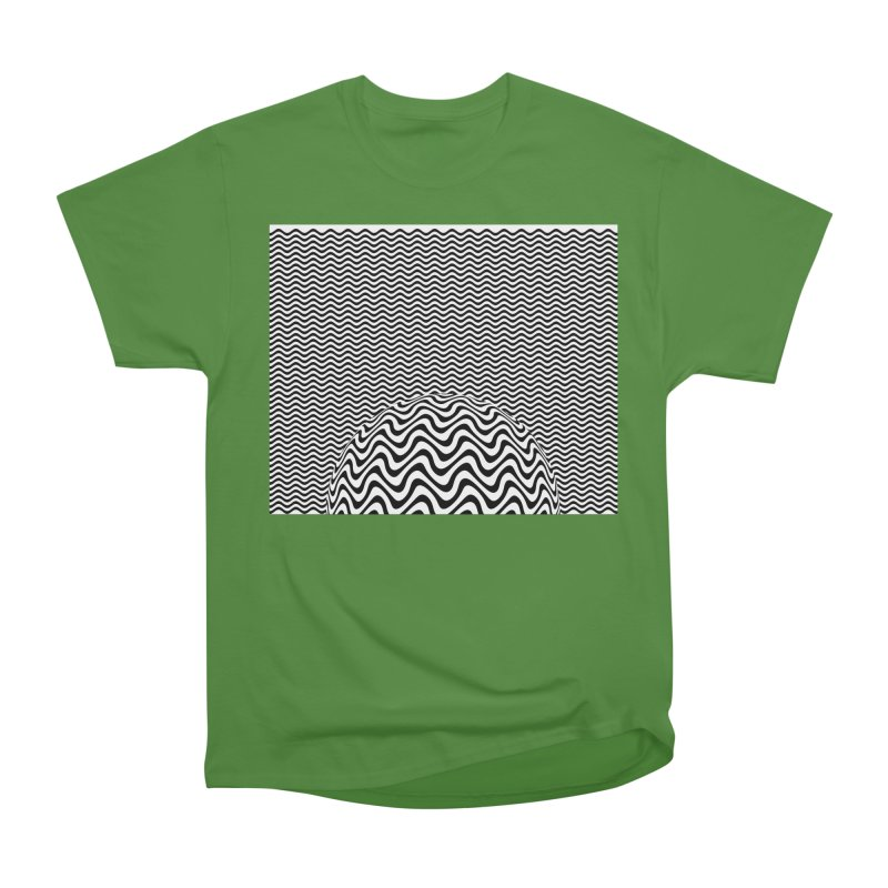 Wave Sphere Women's Classic Unisex T-Shirt by The Digital Crafts Shop