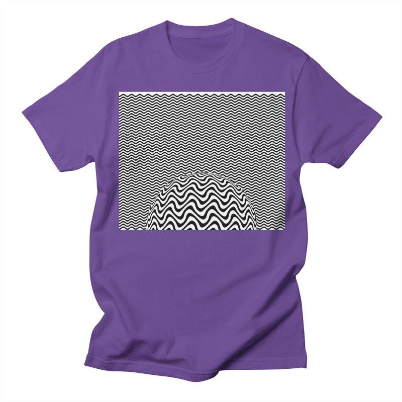 Wave Sphere Men's T-Shirt by The Digital Crafts Shop