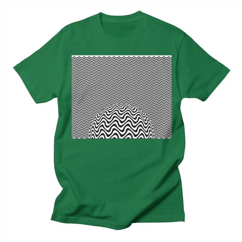Wave Sphere Women's Regular Unisex T-Shirt by The Digital Crafts Shop