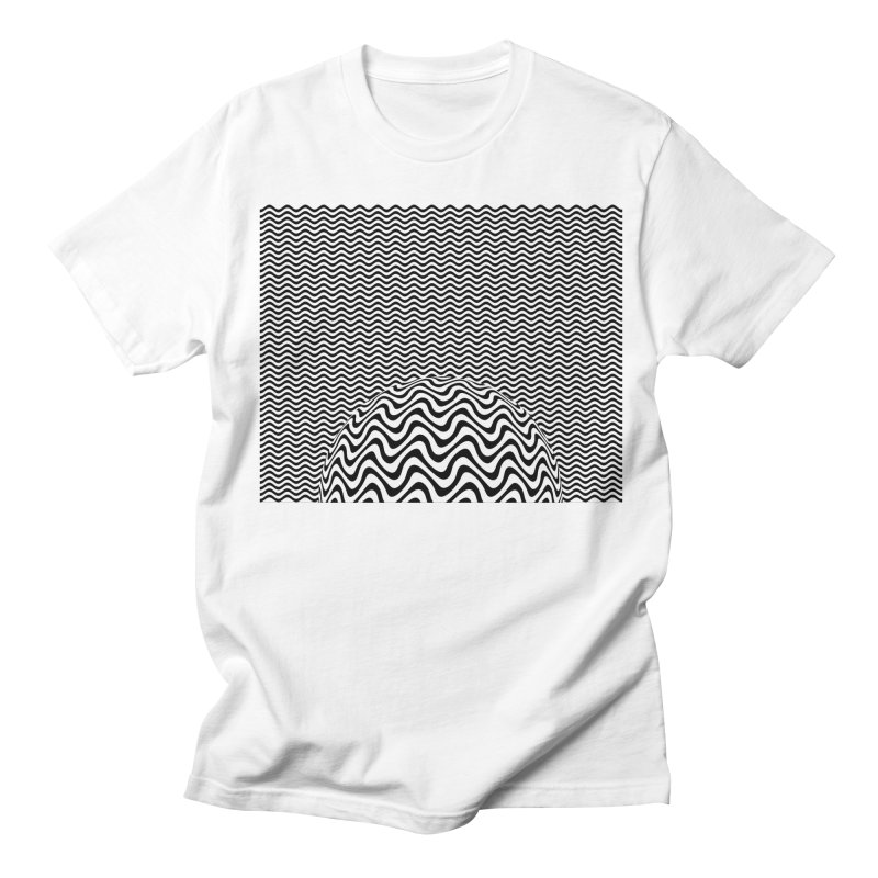 Wave Sphere Women's Regular Unisex T-Shirt by The Digital Crafts Shop