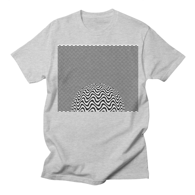 Wave Sphere Women's Unisex T-Shirt by The Digital Crafts Shop