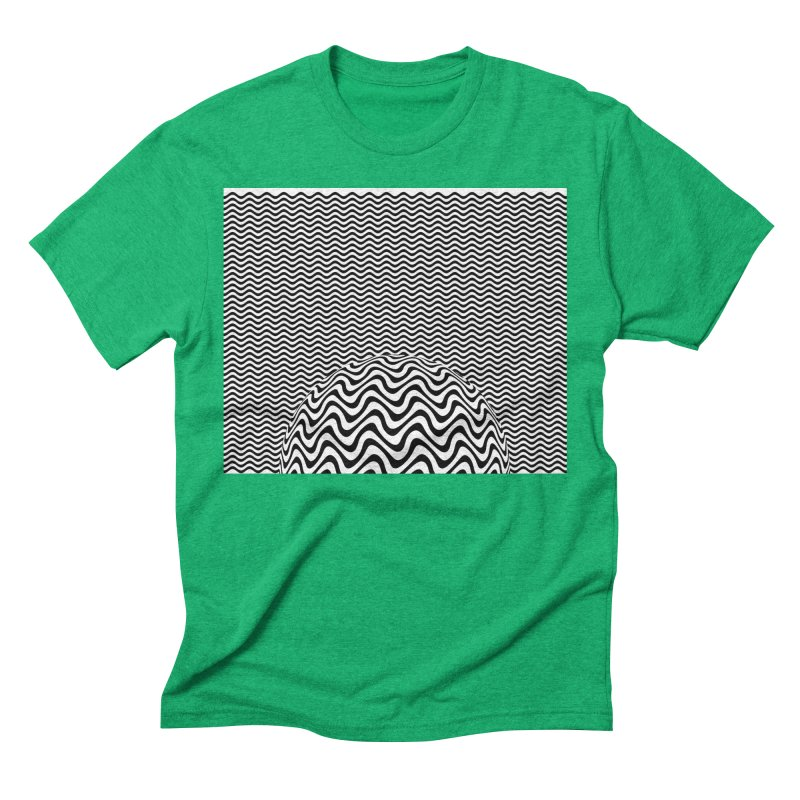 Wave Sphere Men's Triblend T-Shirt by The Digital Crafts Shop