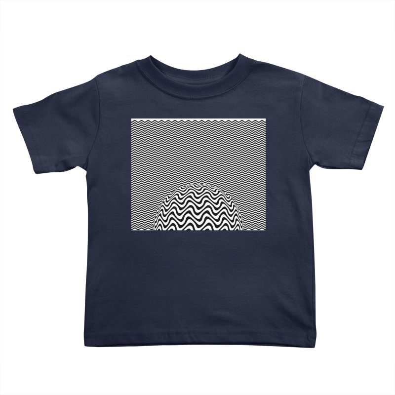 Wave Sphere Kids Toddler T-Shirt by The Digital Crafts Shop