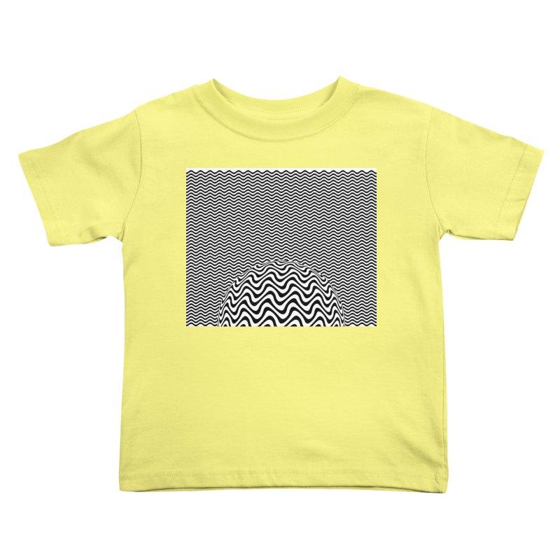 Wave Sphere Kids Toddler T-Shirt by The Digital Crafts Shop