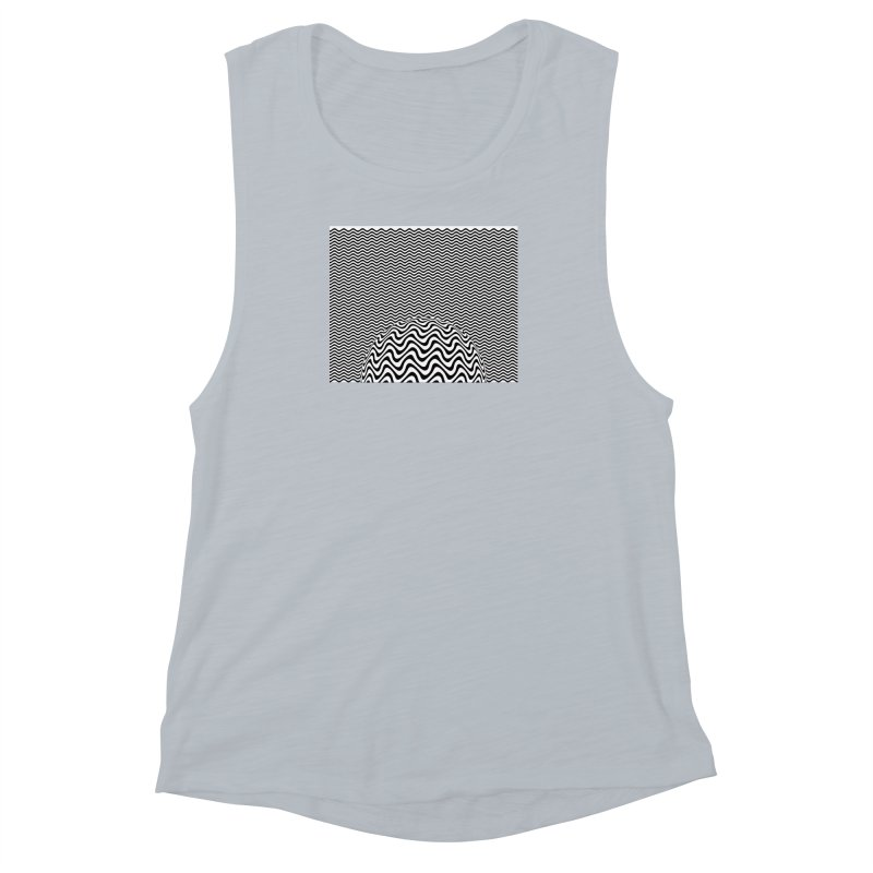 Wave Sphere Women's Muscle Tank by The Digital Crafts Shop