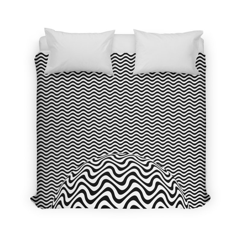 Wave Sphere Home Duvet by The Digital Crafts Shop