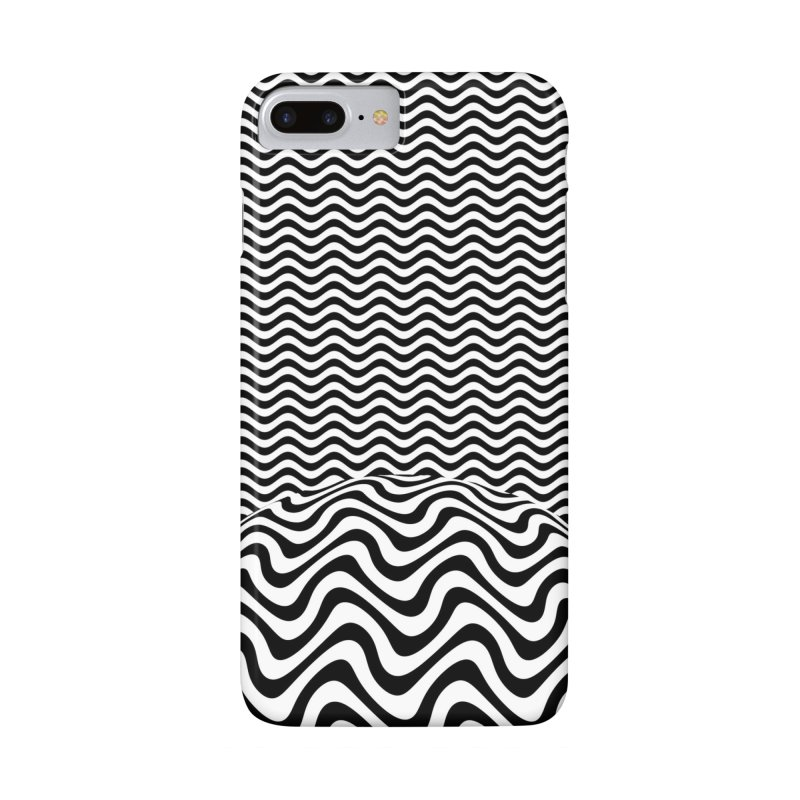Wave Sphere Accessories Phone Case by The Digital Crafts Shop