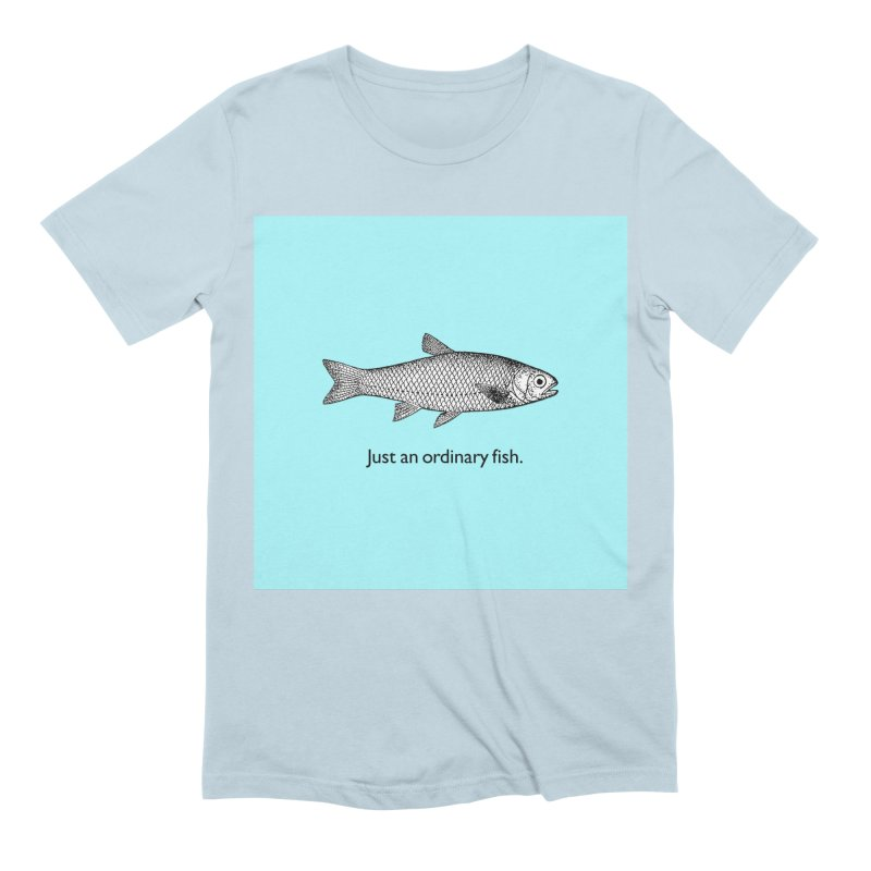 Just an ordinary fish. Men's Extra Soft T-Shirt by The Digital Crafts Shop