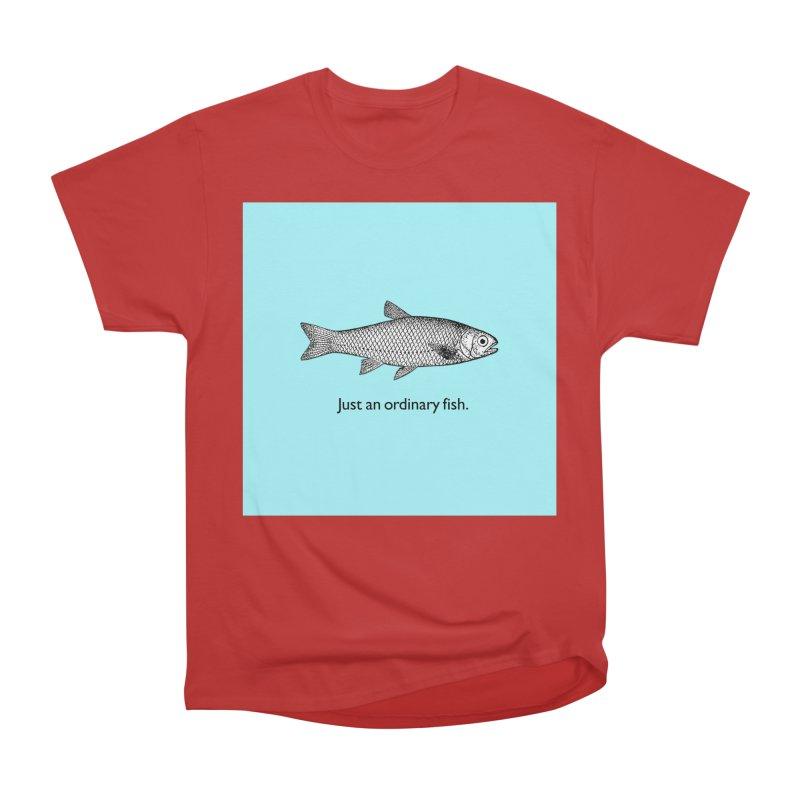 Just an ordinary fish. Men's Heavyweight T-Shirt by The Digital Crafts Shop
