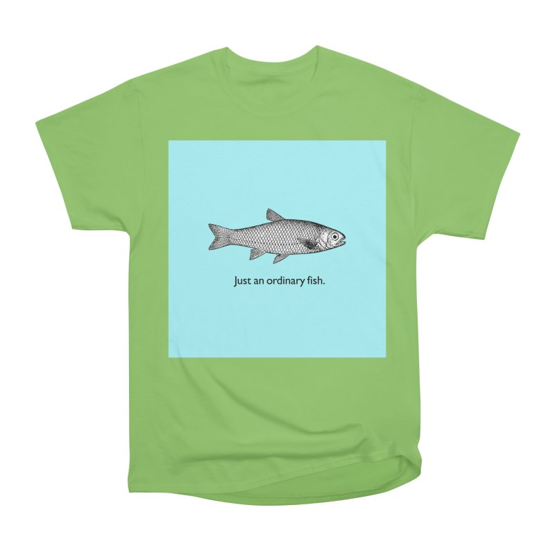 Just an ordinary fish. Men's Heavyweight T-Shirt by The Digital Crafts Shop