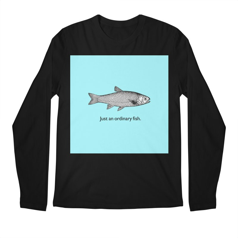 Just an ordinary fish. Men's Regular Longsleeve T-Shirt by The Digital Crafts Shop