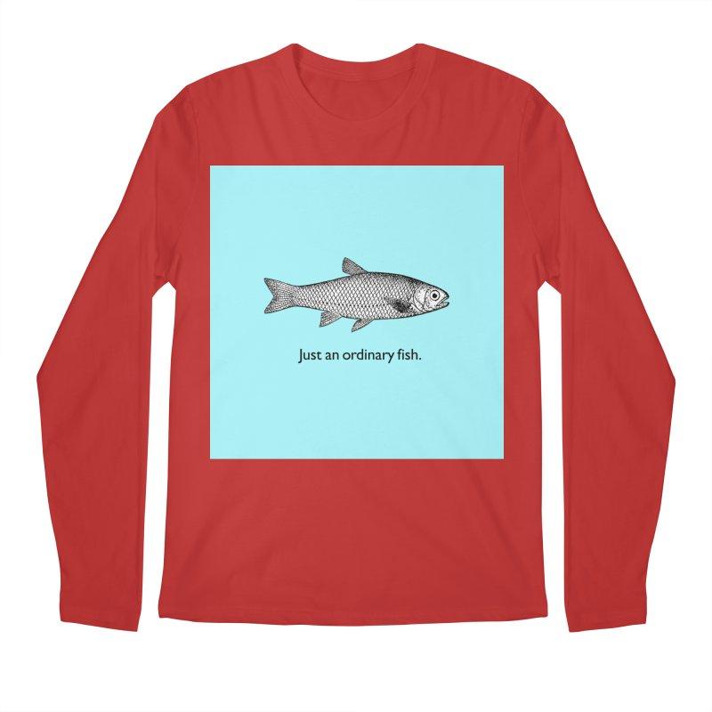 Just an ordinary fish. Men's Regular Longsleeve T-Shirt by The Digital Crafts Shop