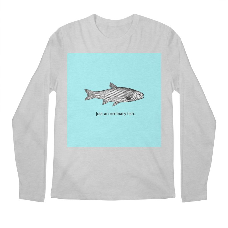 Just an ordinary fish. Men's Longsleeve T-Shirt by The Digital Crafts Shop