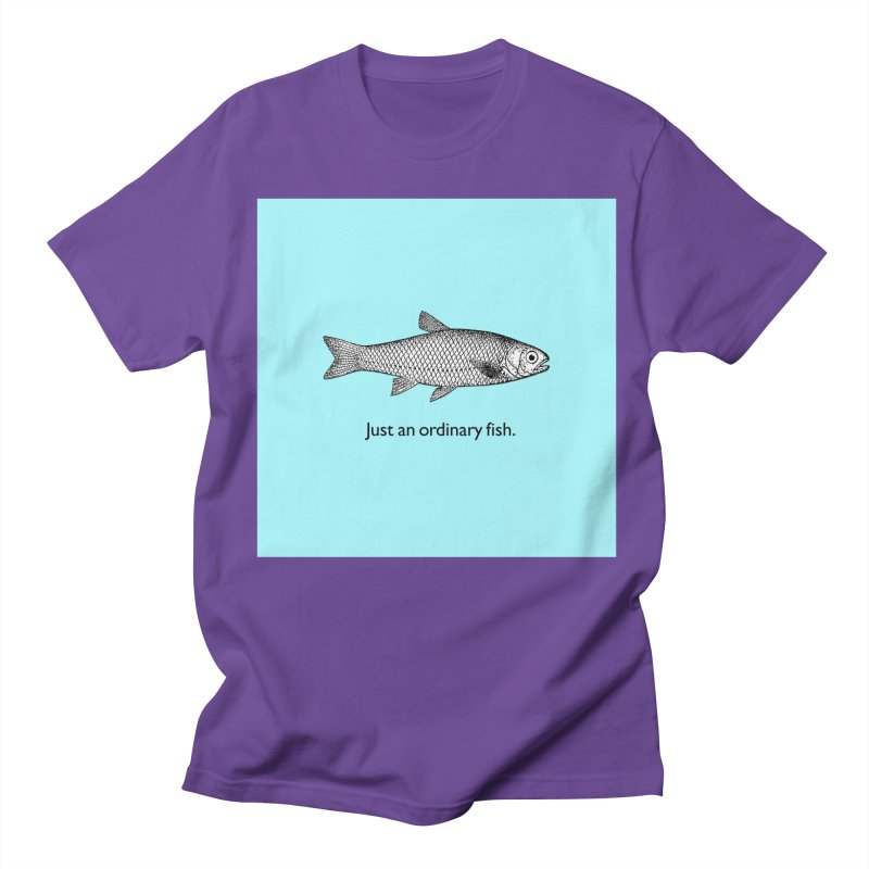 Just an ordinary fish. Men's T-shirt by The Digital Crafts Shop