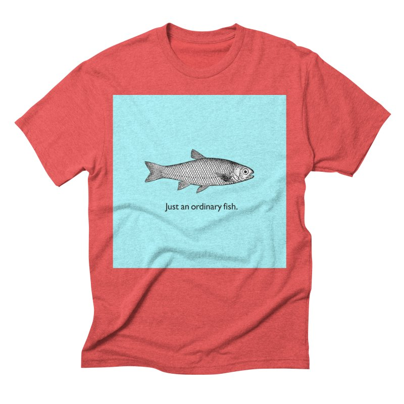 Just an ordinary fish. Men's Triblend T-Shirt by The Digital Crafts Shop