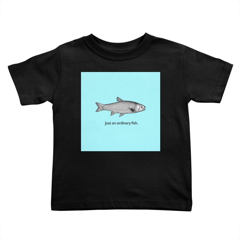 Just an ordinary fish. Kids Toddler T-Shirt by The Digital Crafts Shop