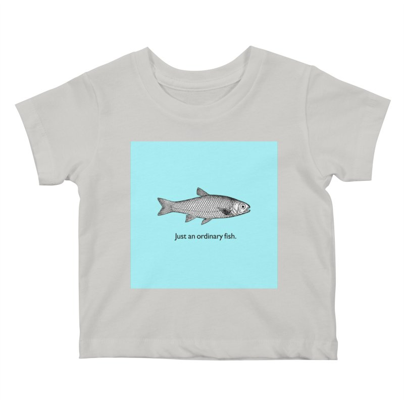 Just an ordinary fish. Kids Baby T-Shirt by The Digital Crafts Shop