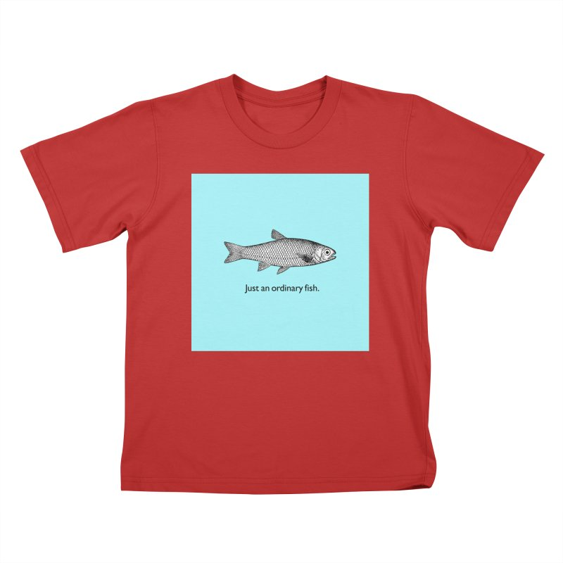 Just an ordinary fish. Kids T-Shirt by The Digital Crafts Shop