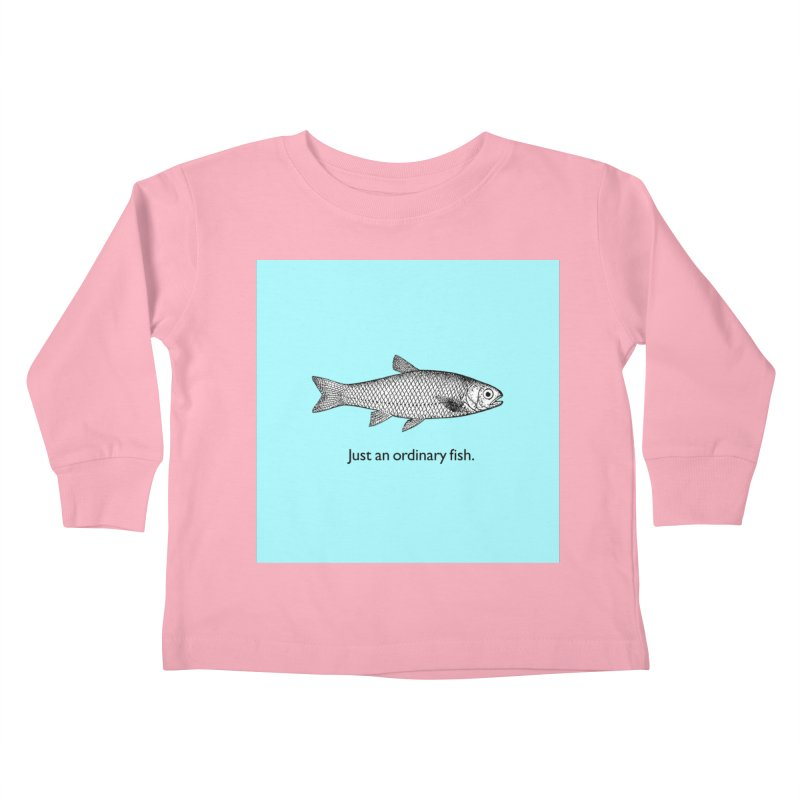 Just an ordinary fish. Kids Toddler Longsleeve T-Shirt by The Digital Crafts Shop