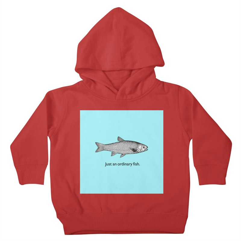 Just an ordinary fish. Kids Toddler Pullover Hoody by The Digital Crafts Shop