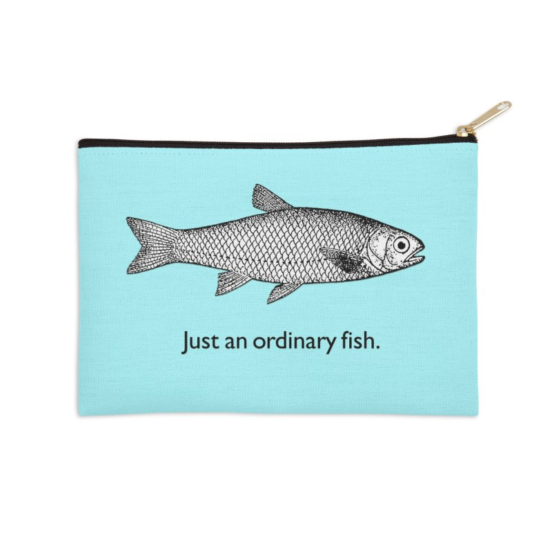 Just an ordinary fish. Accessories Zip Pouch by The Digital Crafts Shop
