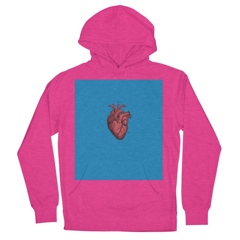 Vintage Anatomical Heart Women's Pullover Hoody by The Digital Crafts Shop