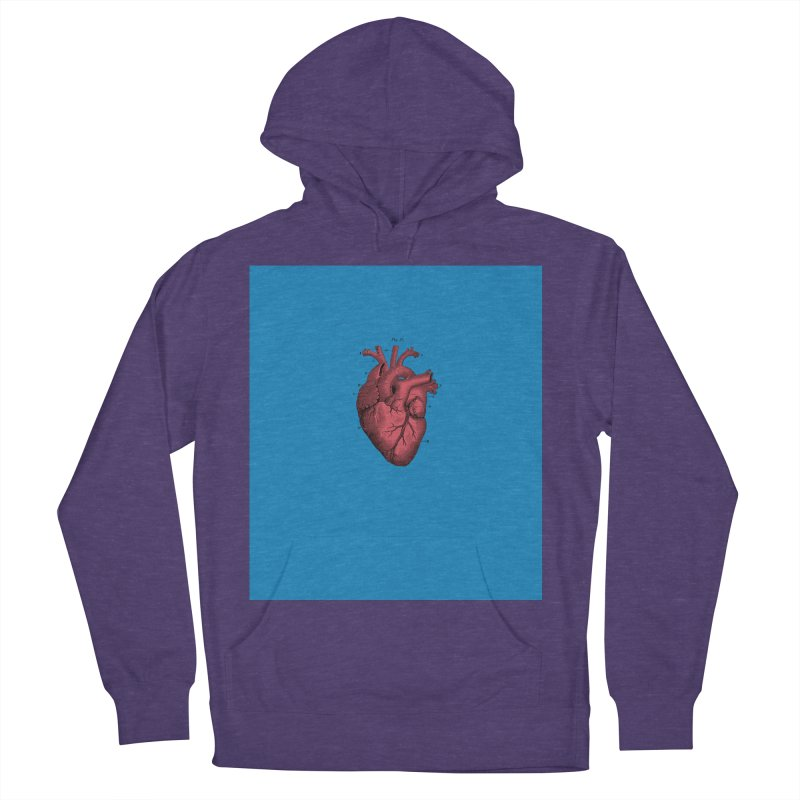 Vintage Anatomical Heart Men's Pullover Hoody by The Digital Crafts Shop