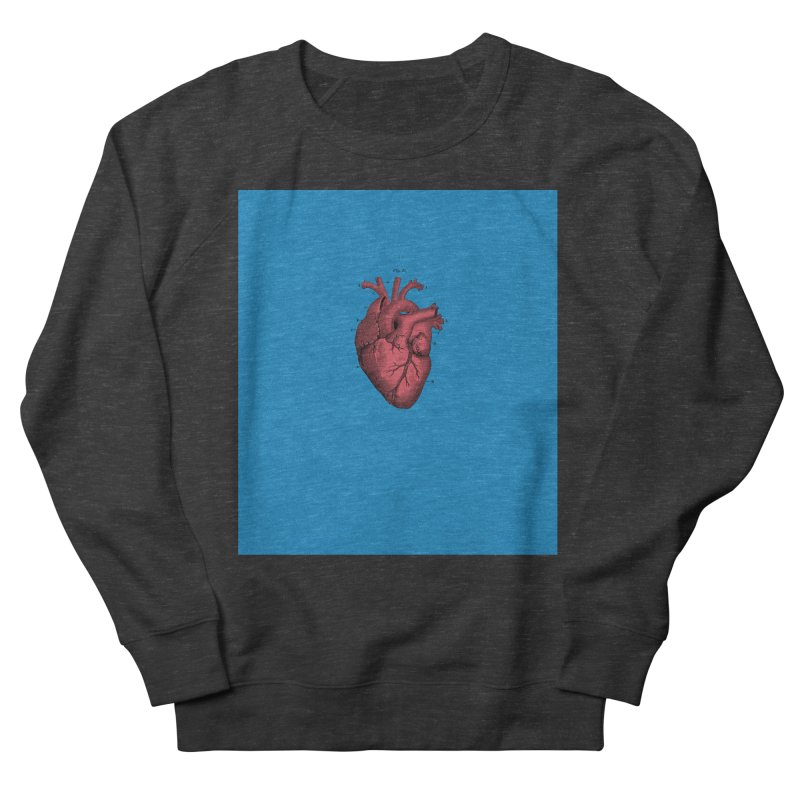 Vintage Anatomical Heart Women's French Terry Sweatshirt by The Digital Crafts Shop