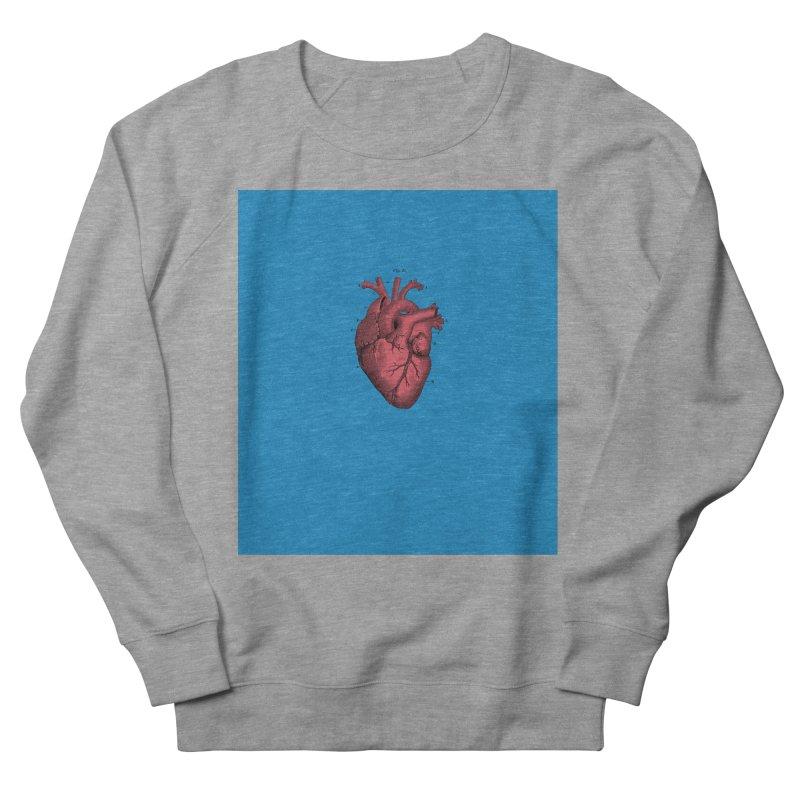 Vintage Anatomical Heart Women's Sweatshirt by The Digital Crafts Shop