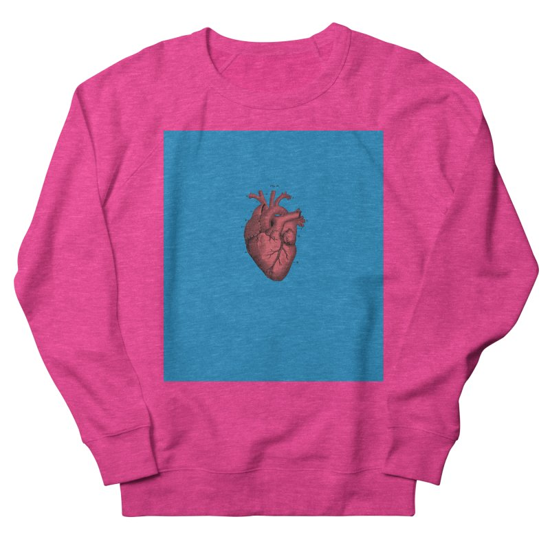 Vintage Anatomical Heart Women's Sweatshirt by The Digital Crafts Shop