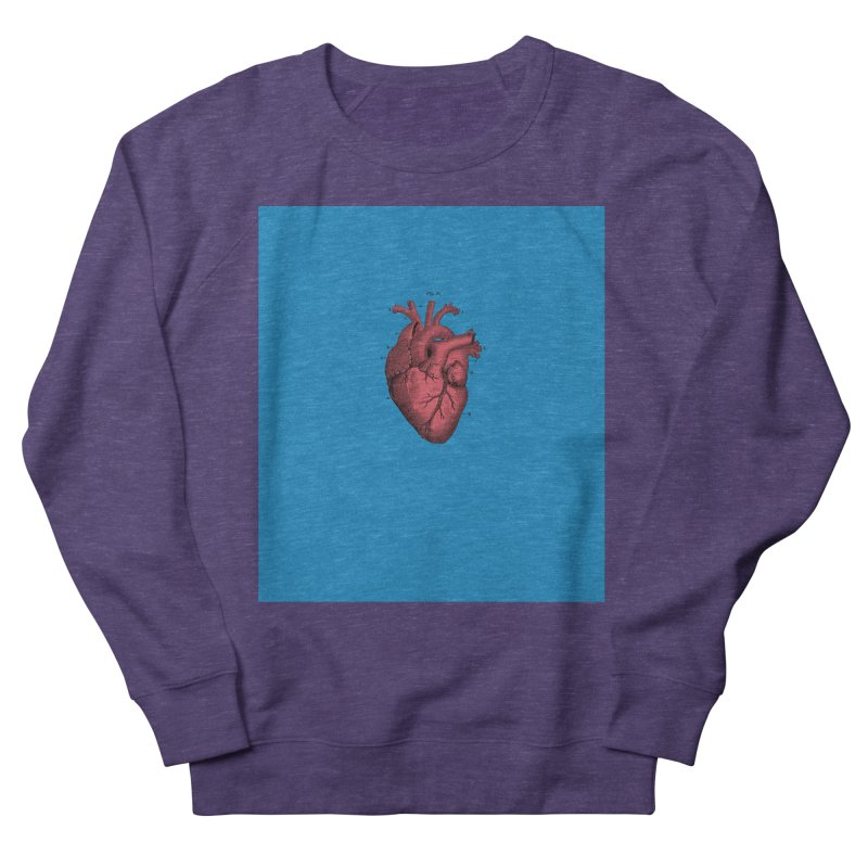 Vintage Anatomical Heart Men's Sweatshirt by The Digital Crafts Shop
