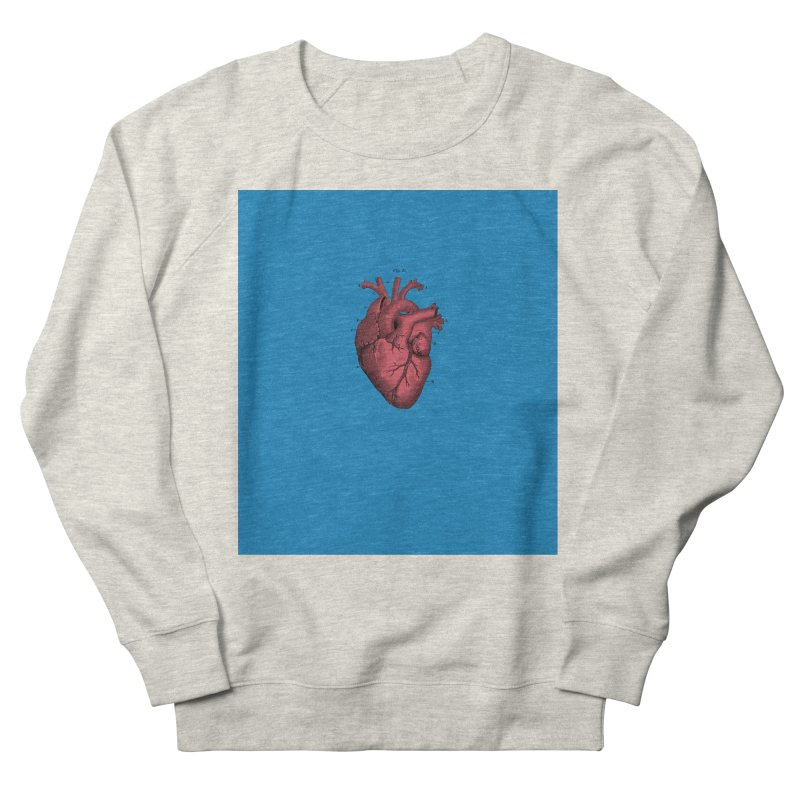 Vintage Anatomical Heart Men's Sweatshirt by The Digital Crafts Shop