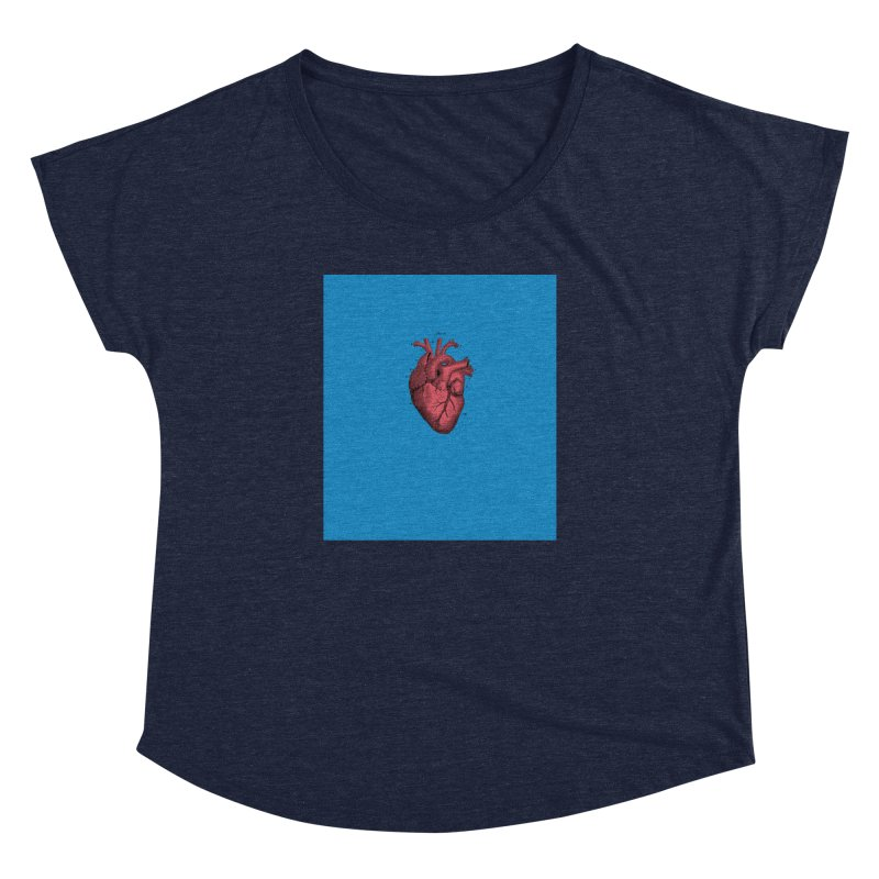 Vintage Anatomical Heart Women's Dolman by The Digital Crafts Shop