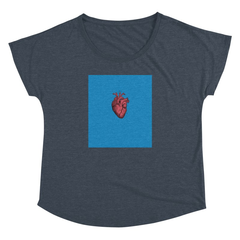 Vintage Anatomical Heart Women's Dolman by The Digital Crafts Shop