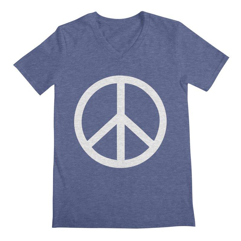 Peace, bro. Men's V-Neck by The Digital Crafts Shop