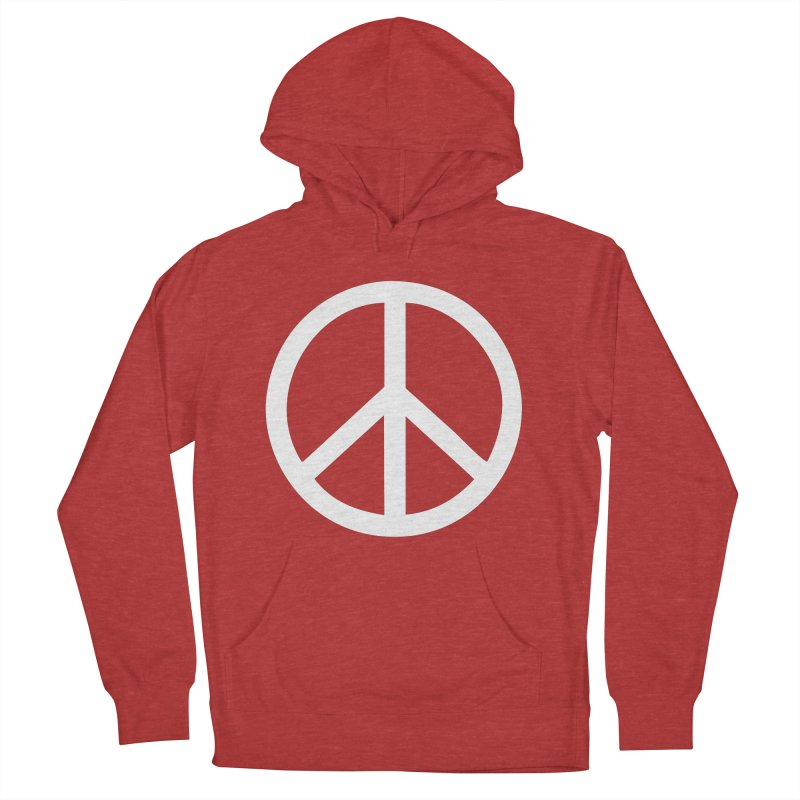 Peace, bro. Men's French Terry Pullover Hoody by The Digital Crafts Shop