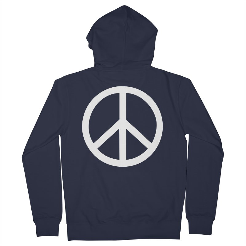 Peace, bro. Women's French Terry Zip-Up Hoody by The Digital Crafts Shop