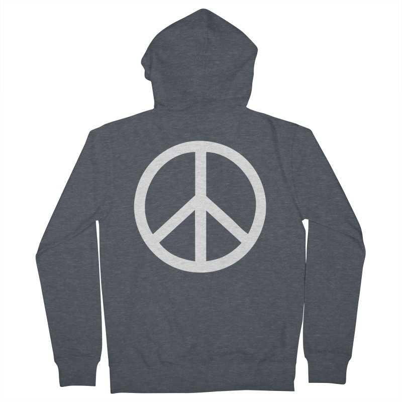 Peace, bro. Men's Zip-Up Hoody by The Digital Crafts Shop