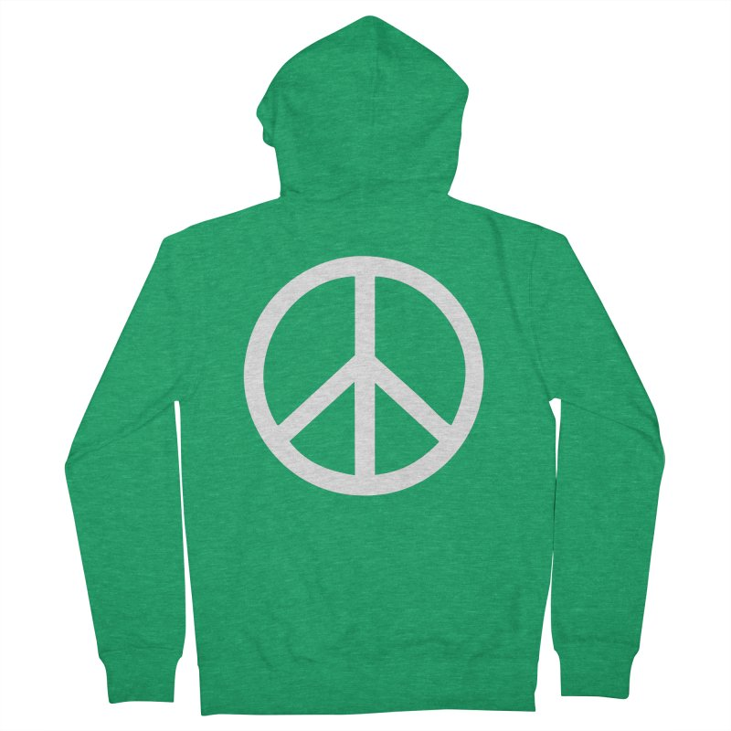 Peace, bro. Men's French Terry Zip-Up Hoody by The Digital Crafts Shop