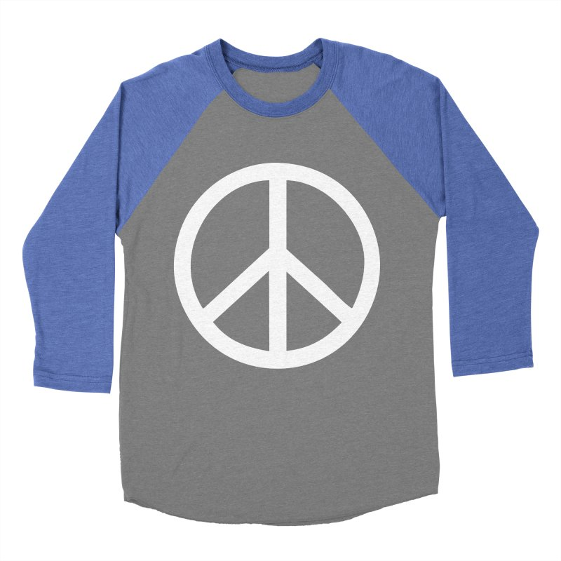 Peace, bro. Men's Baseball Triblend Longsleeve T-Shirt by The Digital Crafts Shop