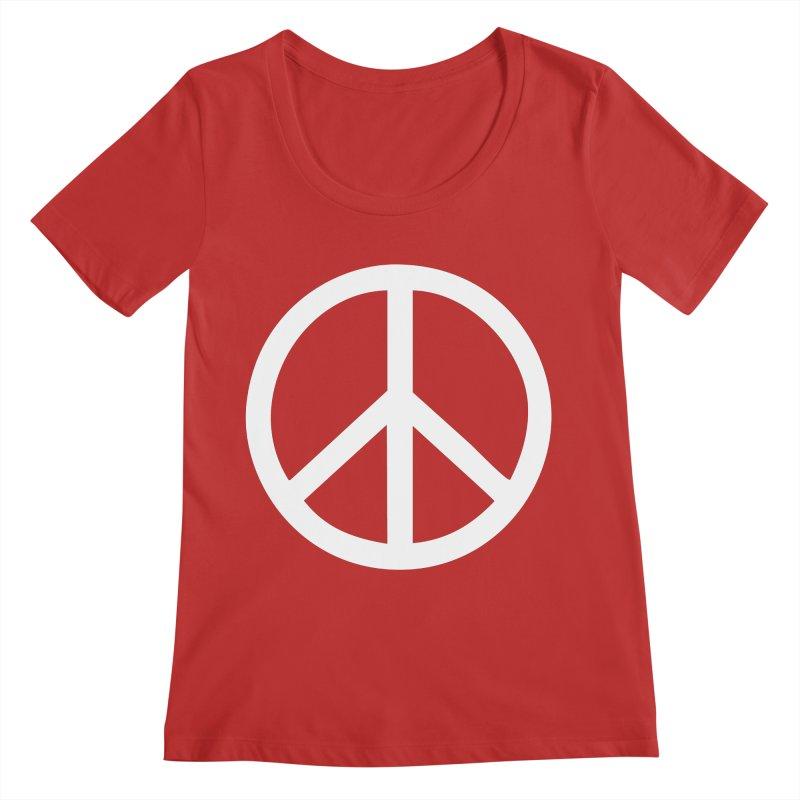 Peace, bro. Women's Regular Scoop Neck by The Digital Crafts Shop