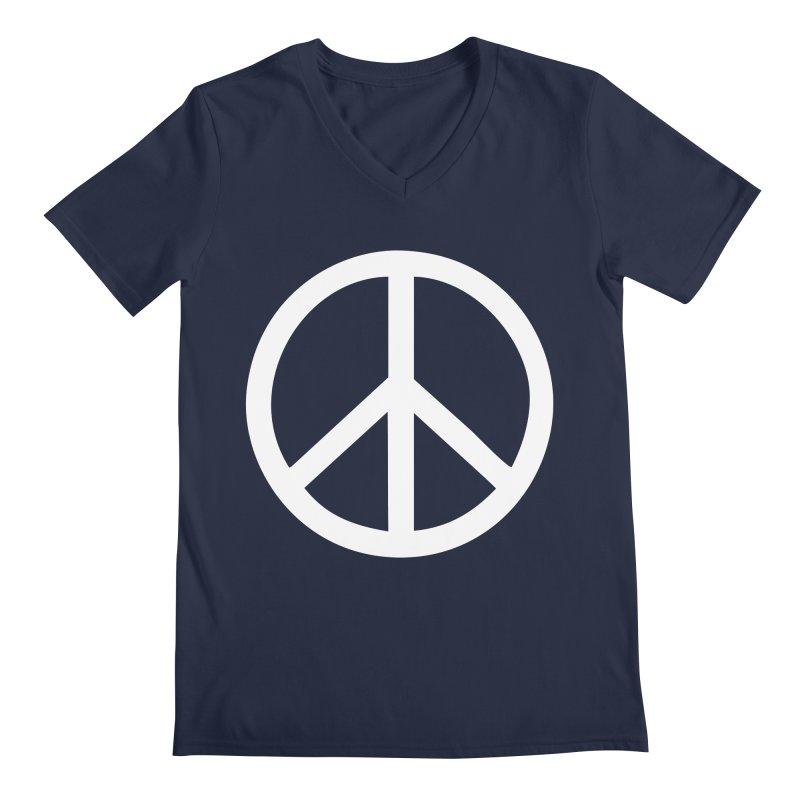 Peace, bro. Men's Regular V-Neck by The Digital Crafts Shop