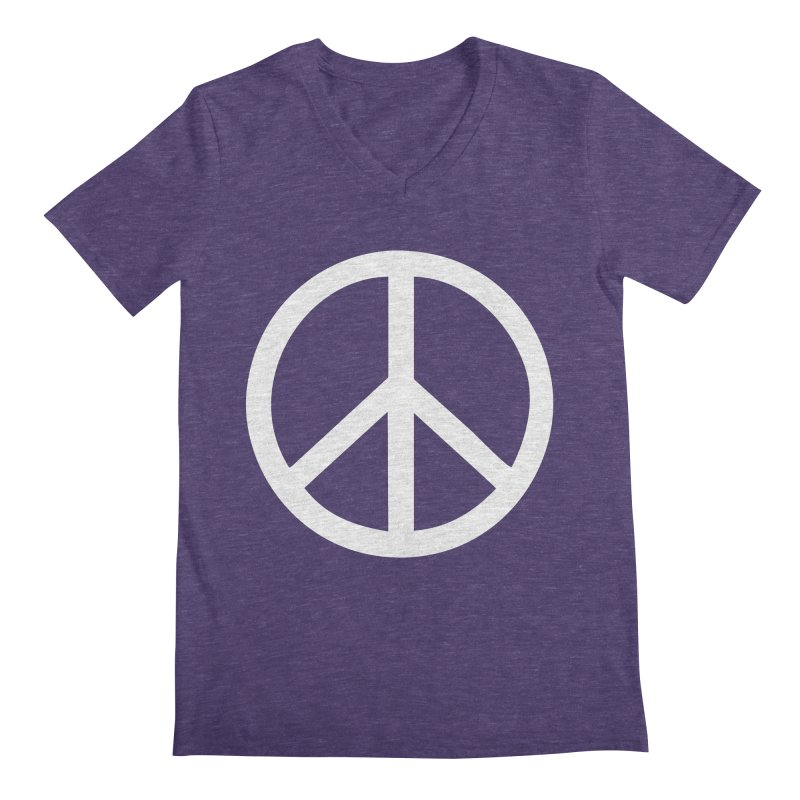 Peace, bro. Men's Regular V-Neck by The Digital Crafts Shop