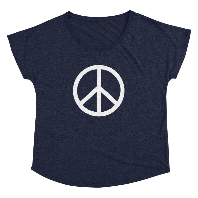 Peace, bro. Women's Dolman Scoop Neck by The Digital Crafts Shop